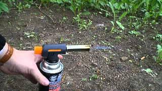 №1 Газовая горелка китайская WS-520C gas torch #1