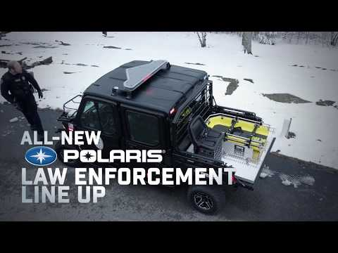 Introducing the All-New Polaris® Law Enforcement Vehicles | Polaris Government & Defense