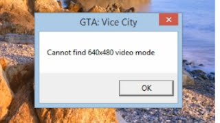 how to fix cannot find 640x480 video mode (work for any games)2016 updated