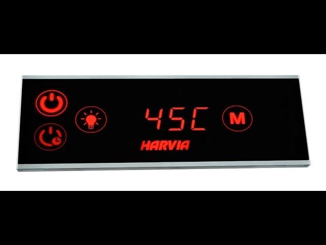 ✅Как работает панель управления парогенератором Harvia🌡Все о хамаме ⚜⚜⚜