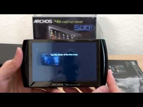 archos 48 500gb unboxing and quick hands on youtube rh youtube com User Manual Template Manuals in PDF