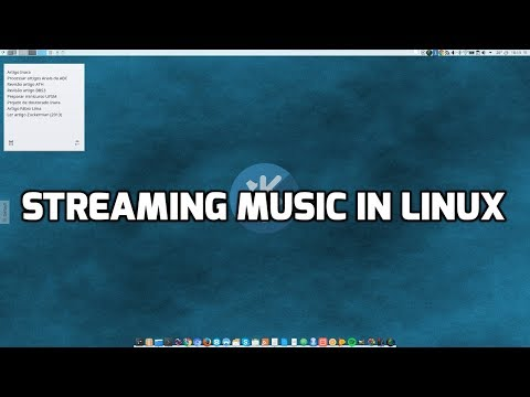 Streaming music in Linux