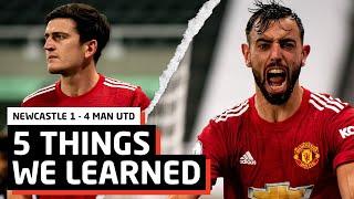 Mata Class   5 Things We Learned vs Newcastle   NEW 1-4 MUN