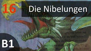 Учить немецкий по аудиокниге B1 Die Nibelungen Kapitel 16 Eine kühle Begrüßung