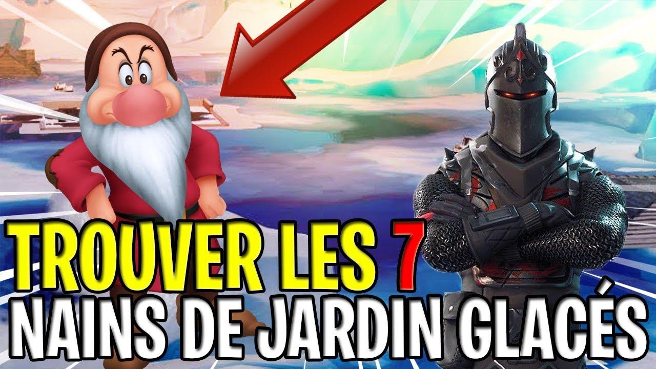 Trouver Les 7 Nains De Jardin Glaces Defis Semaine 6 Saison 7 Sur Fortnite Battle Royale