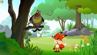 Сказка Лиса и Тетерев. Русские народные сказки для детей смотреть на канале как сделать мультик.