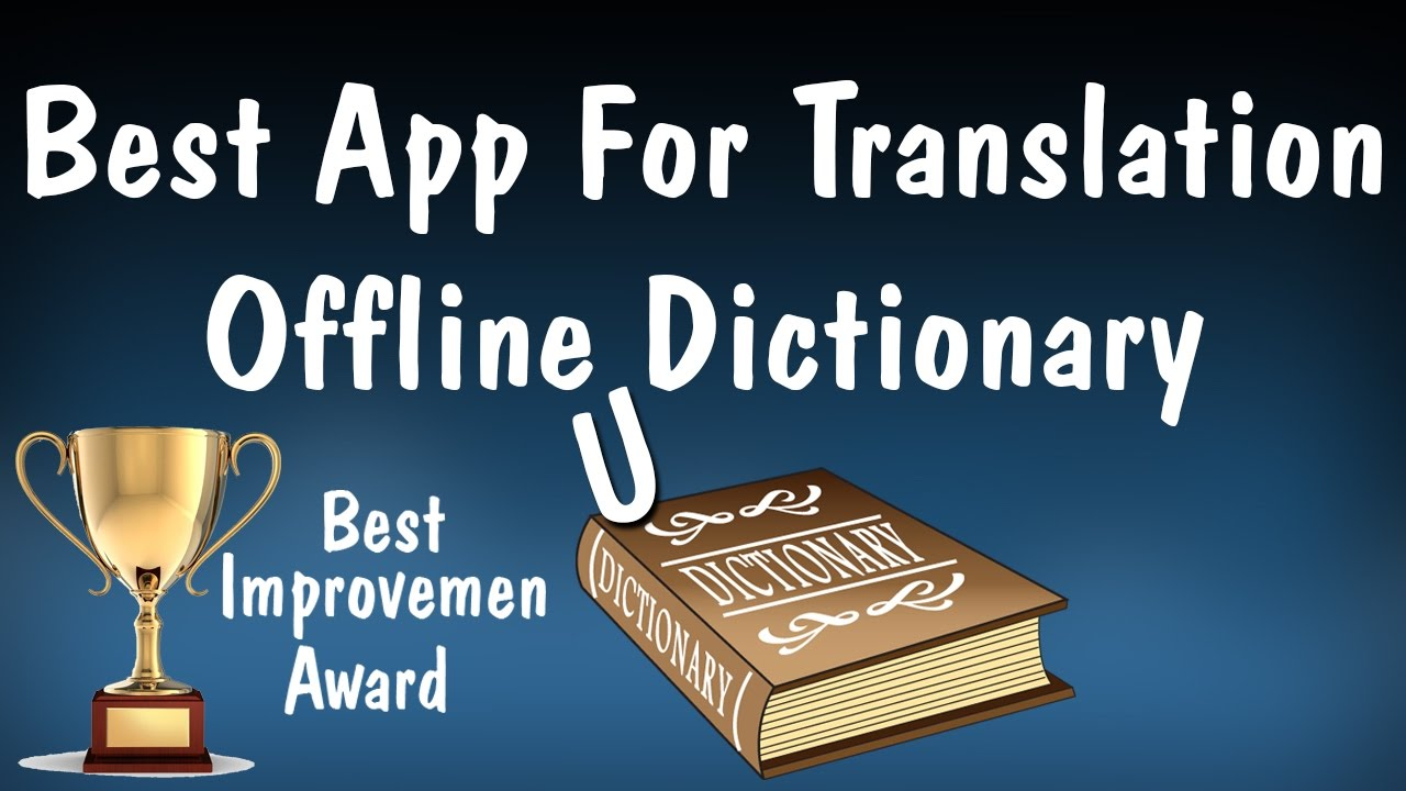 Best App For Translation Offline Dictionary  Technical Touch Urdu / HIndi