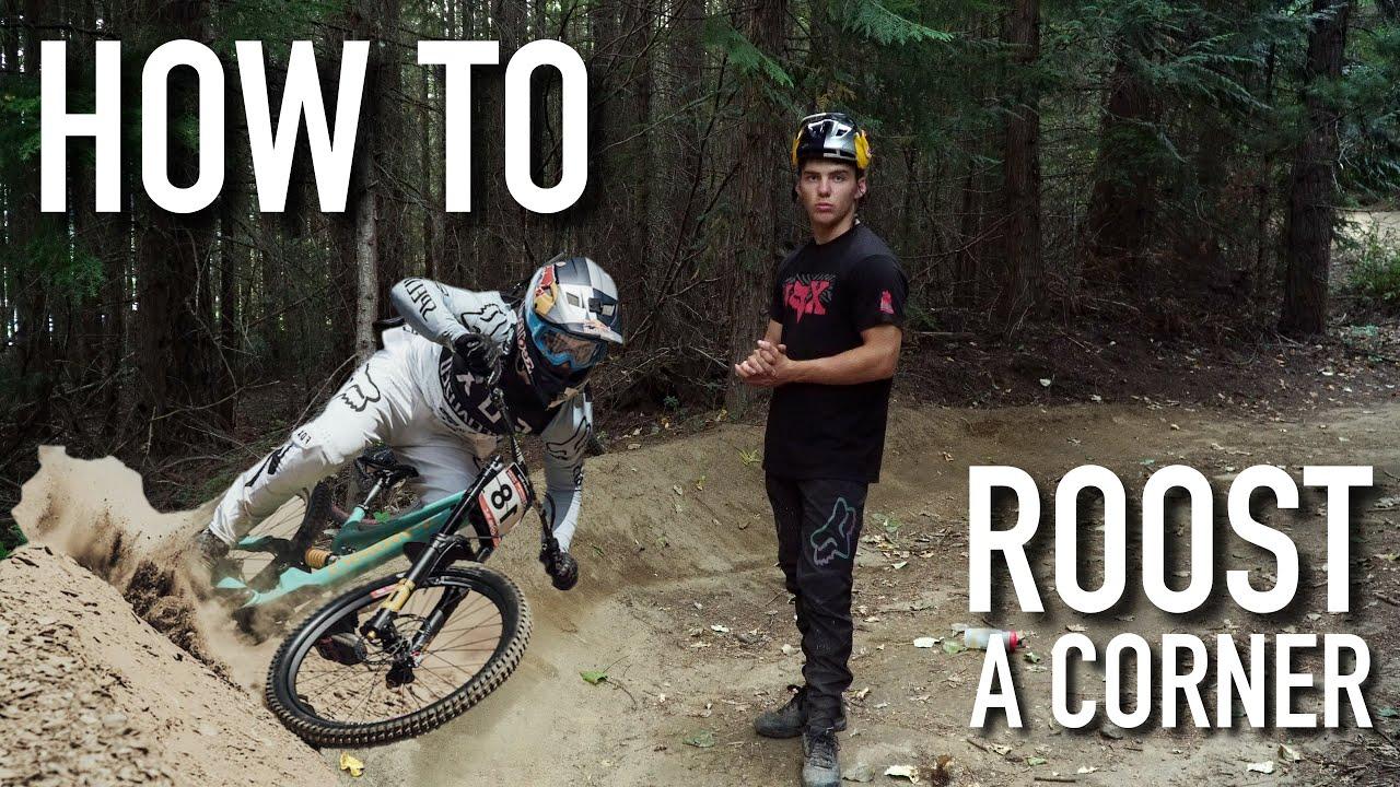 HOW TO SCHRALP A CORNER ON YOUR MOUNTAIN BIKE | Finn Iles