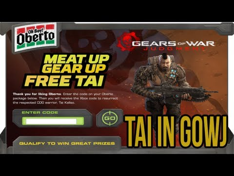 Gears of War: Judgment How to Get JUNGLE TAI Code & GOWJ Console