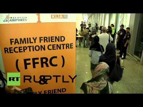 Malaysia: MH17 crash victims' families break down in tears
