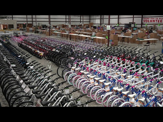 Bikes and Warehouse Crane
