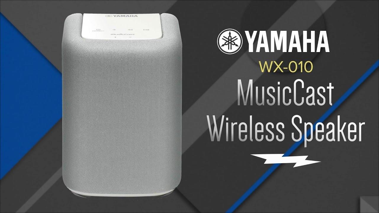 yamaha music cast speaker wx 010 youtube. Black Bedroom Furniture Sets. Home Design Ideas