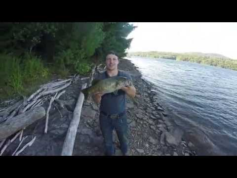 Fishing For BIG Reservoir Small Mouth.