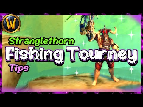 🐟 How To Win The Stranglethorn Fishing Tournament 🐟 | World Of Warcraft 8.3