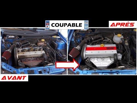 TIGRA 2.0 16V CLEAN ENGINE BAY