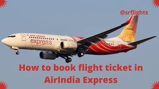 Air India Express - Book International Flight Ticket (Trichy - Singapore)