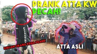 PRANK ATTA KW! No Setting2 TUKER NASIB Atta jadi kameramen. ATTA KW bagi bagi 2 miliar!