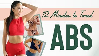 12 Minutes to Toned Abs Workout