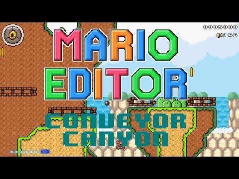 Mario Editor - Conveyor Canyon