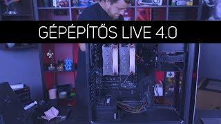 GÉPÉPÍTŐS LIVE 4.0 | Streamer és Gamer gép UPGRADE! - 10.18.
