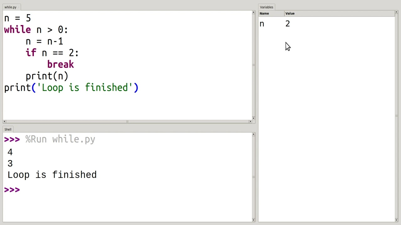 """How to Use """"break"""" and """"continue"""" in Python """"while"""" Loops"""