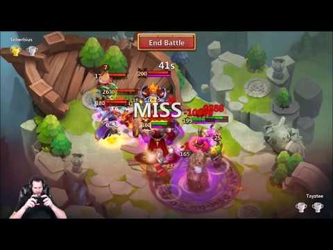 JT's F2P Day 4 Lost Battlefield Nice 599 Total Score Castle Clash