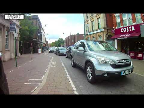 Wanstead High Street to Stratford Broadway on eBike