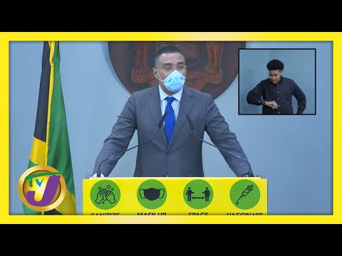 Prime Minister of Jamaica Press Briefing on COVID-19