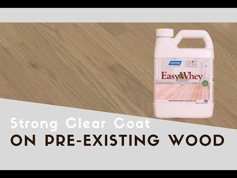 Renew Hardwood Floors Without Sanding Easywhey Clear Bonding Coat