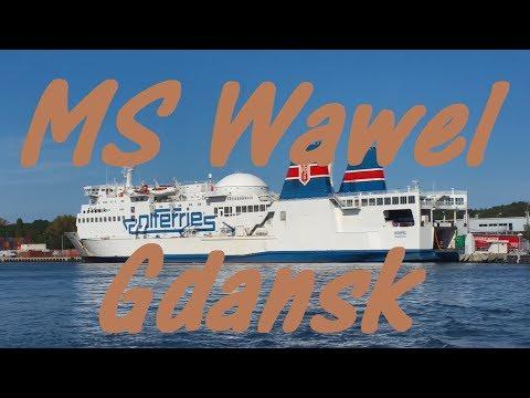 Sweden To Poland Ferry Trip On MS Wawel