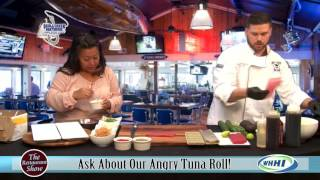 RESTAURANT SHOW | Skull Creek Boathouse: Angry Tuna Roll | 11-26-2015 | Only on WHHI-TV