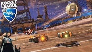 Фан стрим на днюху Сончика Rocket League