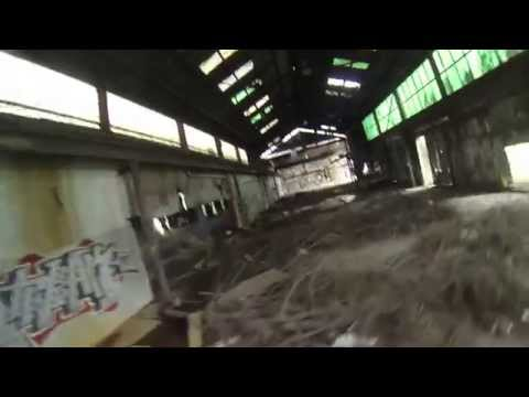 Abandon Warehouse Drone Racing - FPV