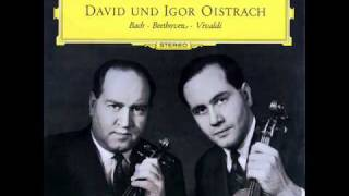 "Vivaldi / David and Igor Oistrakh, 1961: Concerto Op. 3 No. 8 A Due Violini, ""L"