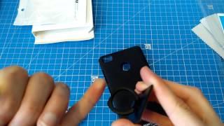 Чехол  с кольцом для NUBIA z11 mini s от IMAK - качественный бампер для камерафона