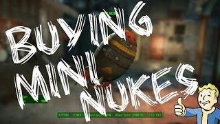 Fallout 4-HOW TO BUY MINI NUKES NO GLITCHES