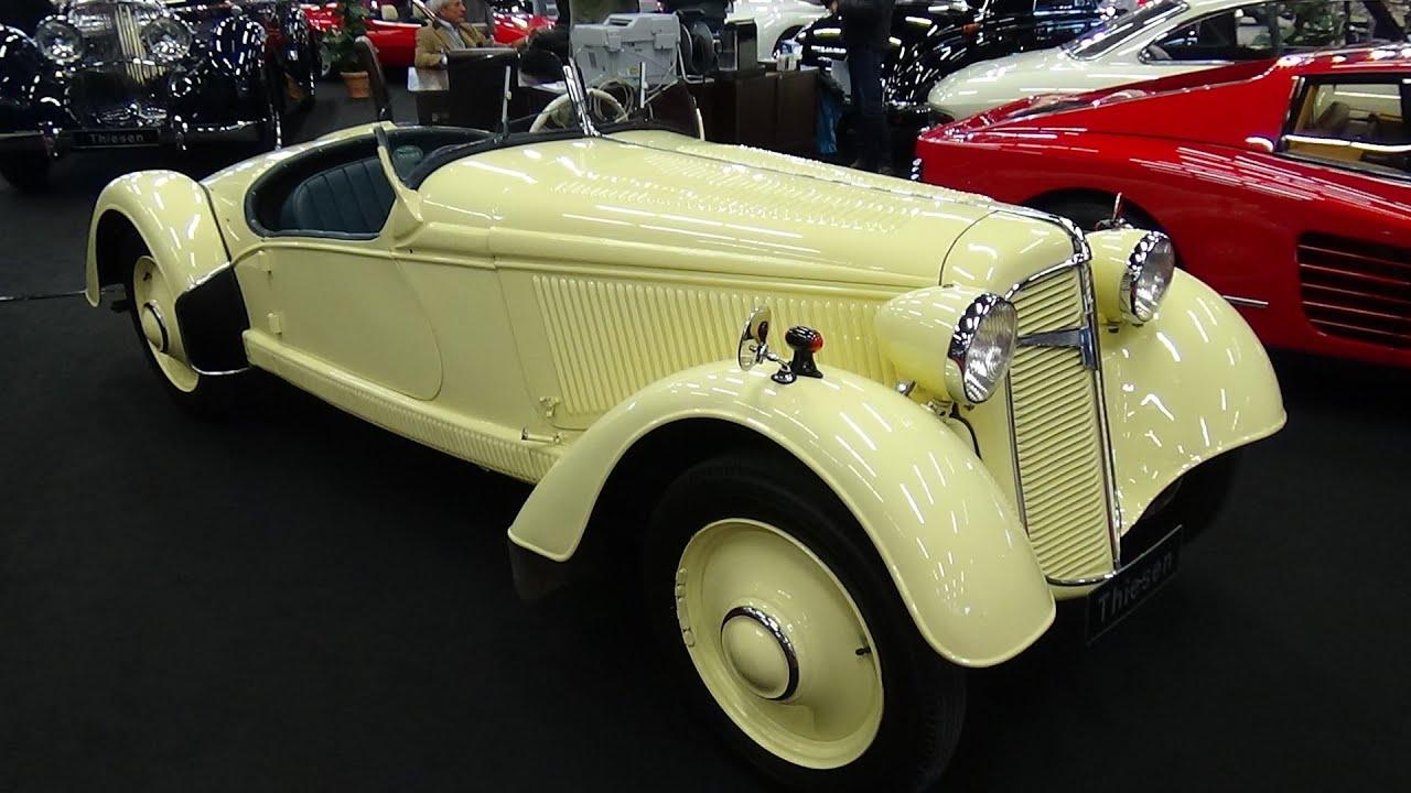 1934 adler trumpf junior sport roadster exterior and. Black Bedroom Furniture Sets. Home Design Ideas