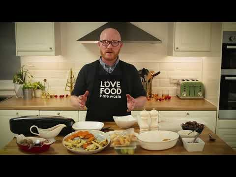 Love Food Hate Waste - Gary Maclean - Tips on Storing Festive Leftovers