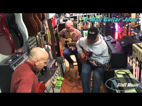 3 Man In-Store Jam | NStuff Music
