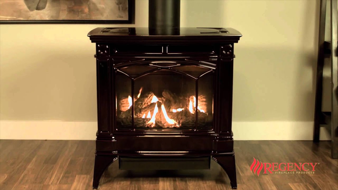 Hampton H35 Large Gas Stove Regency Fireplace Products