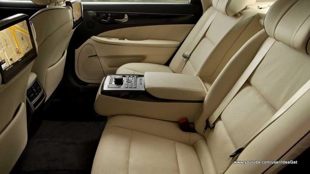 Delightful Interiors 2014 Hyundai Equus Preview