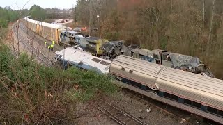 SC Amtrak Train Derailment