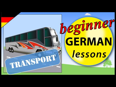 Transport in German | Beginner German Lessons for Children