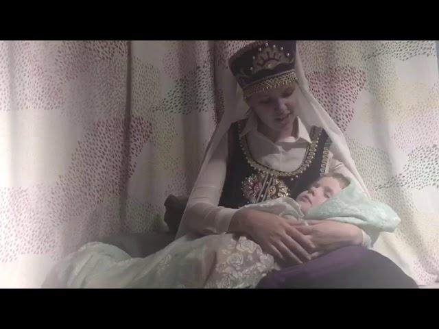 Изображение предпросмотра прочтения – ОляЕлкина читает произведение «Колыбельная» (Русский фольклор )