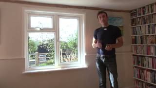 How to measure up for a curtain pole