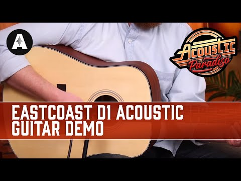 EastCoast D1 Acoustic Guitar Demo - The Best Affordable Acoustic Guitars!