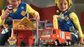 Giochi Preziosi - Sam Il Pompiere Caserma e Jupiter