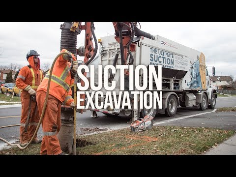 Dry Suction Excavation Services