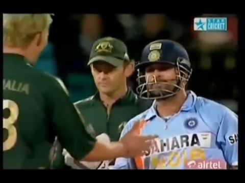 Sachin Tendulkar Reaction on Brett Lee.
