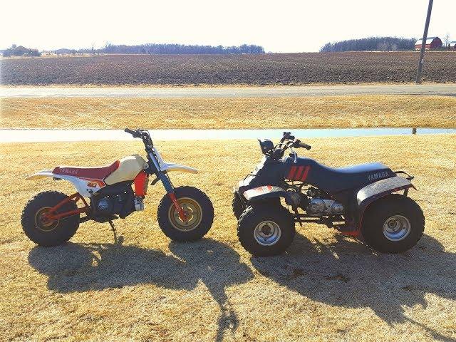The Battle of the Yamaha 80ccs!!!